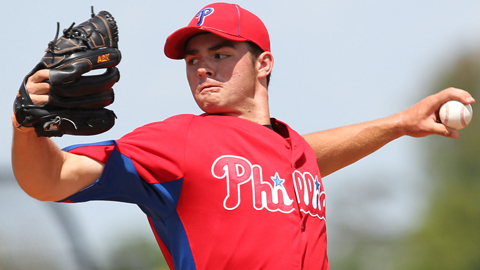 Threshers lefty Jesse Biddle is the No. 2 prospect in the Phillies system.
