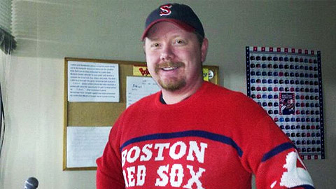 Salem announcer Travis Jenkins is legally blind but lived a dream at Fenway Park.